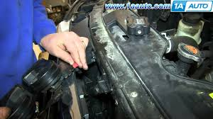 nissan armada ecm relay how to remove install horn assembly nissan titan and armada youtube
