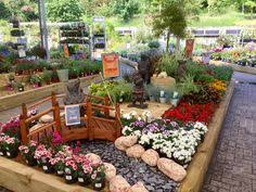 wind in the willows display at derby garden centre using home