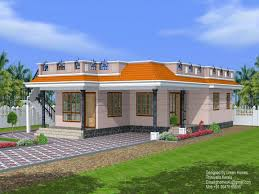 one story one story exterior house plans