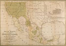 mexico map 1800 mexico s journey from colony to statehood road arts