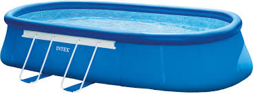 intex oval frame 20 u0027 x 12 u0027 x 48 u0027 u0027 backyard pool with filter pump