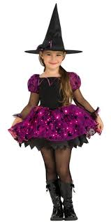 pink witch costume toddler kids witch glitter costume escapade uk luna the witch costume for