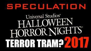 terror tram themes for hhn 2017 youtube