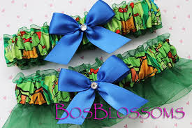 choose bow color tmnt teenage mutant ninja turtles fabric