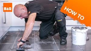 Laminate Flooring At B And Q How To Tile A Floor Part 3 Grouting Youtube