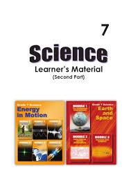 deped science 7 learner u0027s module part 2