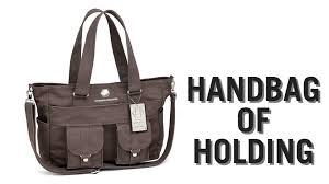 handbag of holding from thinkgeek youtube