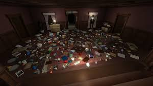 someone moved all the items from gone home into one room video
