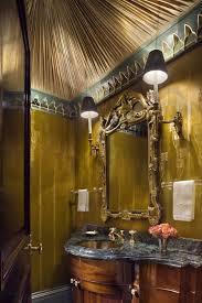 jewel box bathroom how to decorate a small powder room narrow