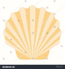 shells pastel tones vector illustration summer stock vector