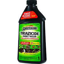 Mosquito Spray For Backyard by Spectracide Triazicide 32 Fl Oz Concentrate Lawn Insect Killer