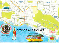 albany map albany albany maps south australia map it out