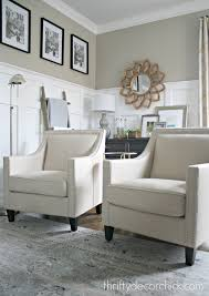 Making Changes In The Family Room From Thrifty Decor Chick - Chairs for family room