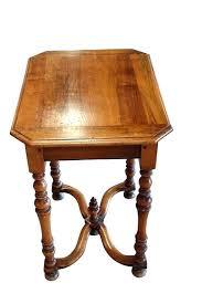 antique spindle leg side table antique side table with spindle legs side table century walnut