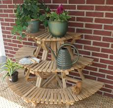 plant stand singular planters on stands outdoor photo