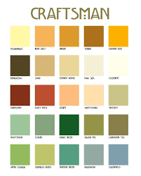 color palettes for home interior craftsman color palette interior 12916