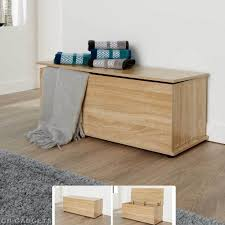 wooden ottoman bench seat wooden ottoman storage box chest bench seat toy beddin blanket trunk
