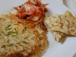 korean cabbage pancakes recipe ian knauer food u0026 wine