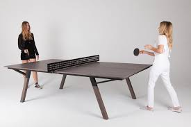 Table Tennis Boardroom Table Woolsey Makes Ping Pong An Outdoor Sport
