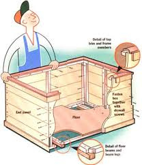 Outdoor Firewood Storage Rack Plans by Build A Firewood Storage Box Diy Mother Earth News