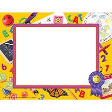 preschool certificates preschool kindergarten border paper teaching end of the year
