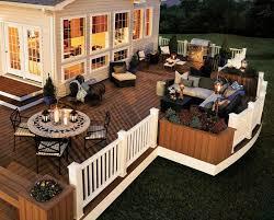 Backyard Deck Ideas Photos The Unique Backyard Deck Ideas