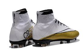 s nike football boots australia nike mercurial superfly cr501 fg white gold for a 109 78