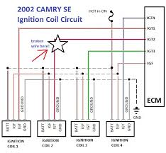 troubleshooting 2002 toyota camry misfire p0302 code