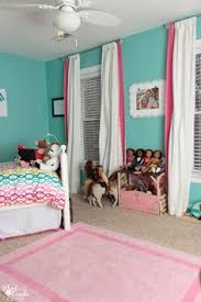 Pink And Teal Curtains Decorating Bouncing The Walls Finally Big Room Reveal For The