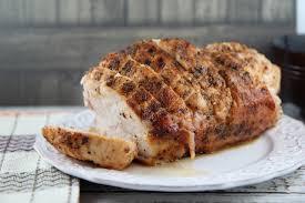 seasoned roast turkey breast boneless recipe bargainbriana