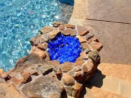 Fire Pit Rocks by Fire Pit With Glass Rocks Image Pixelmari Com