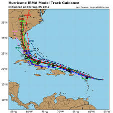 tropical cyclone climatology when will hurricane irma hit latest