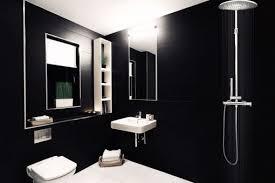 desain kamar mandi warna hitam putih desain warna cat kamar mandi hitam putih yang keren desain rumah