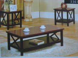 end table set of 2 3361 coffee table 2 end tables set furniture outlet coffee table