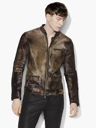 motorcycle style leather jacket men u0027s jackets john varvatos