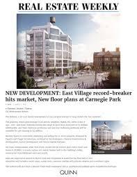 new development east village record breaker hits market new