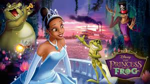 tying movies princess frog hunt crazy kid