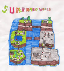 Super Mario World Map by Super Mario World Custom Map By Oscarman348 On Deviantart