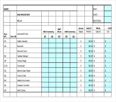 Inventory Templates Excel Free by 15 Liquor Inventory Templates Free Sle Exle Format
