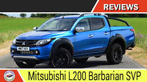 mitsubishi barbarian mitsubishi l200 barbarian svp 2017 car reviews youtube