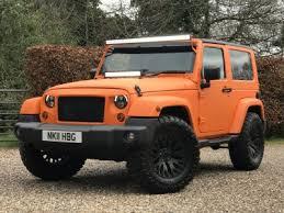 orange jeep 2016 jeep wrangler 2 8 crd sahara soft top 4 4 2dr 24 995 ltd edition