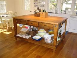 antique kitchen island table kitchen islands with tables a simple but clever combo with