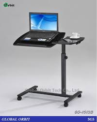Swivel Laptop Desk New Design Swivel Notebook Table Movable Laptop Table With Wheels