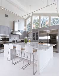 Painted Kitchen Cabinet Ideas Freshome Grey And White Kitchen Designs Gray Kitchens Red Black