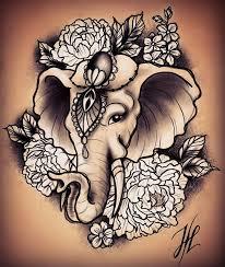 the 25 best elephant head tattoo ideas on pinterest elephant