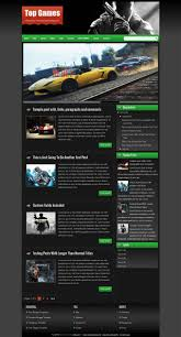 34 best free gaming responsive blogger templates techclient