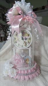 Tessuti Shabby Chic On Line by Best 25 Shabby Chic Clock Ideas On Pinterest Unique Alarm