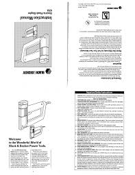 black u0026 decker staple gun 9701 user guide manualsonline com