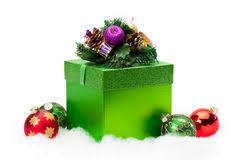 gift box ornaments stock photo image 22377156