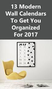 13 modern wall calendars to get you organized for 2017 contemporist get the contemporist daily email newsletter sign up here 13 modern wall calendars